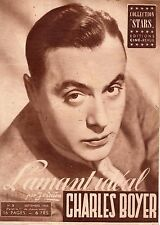 COLLECTION STARS 3 CHARLES BOYER L'AMANT IDEAL 1945 RARE TBE