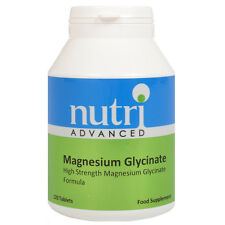 Magnesium Glycinate - 120 Tablets by Nutri Advanced - High Strength Supplement