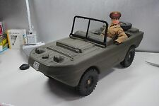 "GI JOE / ACTION MAN CHERILEA     "" AMPHIBIOUS JEEP VEHICLE   ""  NICE !"