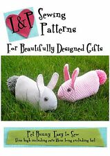 Sewing Pattern Pet Bunny Rabbit Easy to sew Easter gift