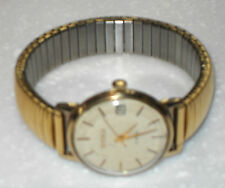 VINTAGE 1960/70s SEKONDA USSR 22ct GOLD PLATED MECHANICAL WIND UP WATCH