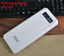 0-24v 85W External Power Bank Backup 18650 Battery Charger For Cell Phone laptop