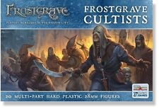 North Star Miniatures Frostgrave Cultists 20 Multi-Part Hard Plastic 28mm Figs