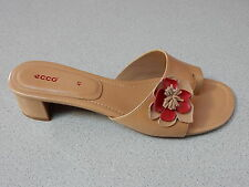 """ECCO  """"CITY CHICAGO""""  LEATHER  SANDALS  LADIES  US 11-11.5 med  EURO 42  NEW"""