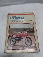 MANUAL - CLYMER HONDA XL/XR250-350 1978-95 + XR200R 1984-85 + XR250L 91-96
