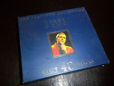 Perry Como THE PLATINUM COLLECTION 2 CDS GREAT 40 TRACK