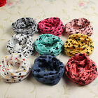UK Baby Kid Girl Boy Toddler Star Wrap Cotton Winter Warm Snood Scarf Xmas Gift