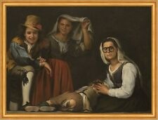 Four figures on a step Bartolome esteban murillo personas gafas B a1 00771