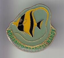 RARE PINS PIN'S .. ANIMAL POISSON FISH AQUARIUM TROPICAL MUSEE NANCY 54 ~DD
