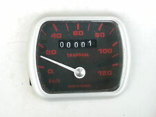 N.O.S compteur PEUGEOT 103 TRANSVAL 120KM/H mobylette N.O.S