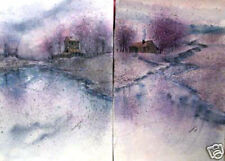 Fall Storm I and II By Anna Ray