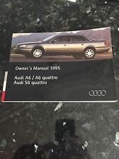 1991- 1997 Audi A6 S6 100 Quattro Owners Manual Guide.