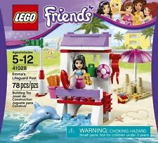 LEGO Friends Emma's Lifeguard Post # 41028, Animal Dolphin Accessories *NEW*