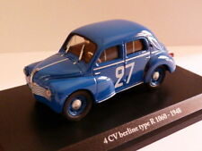 voiture 1/43 Eligor renault : 4 CV N°34 BERLINE R 1060 1948