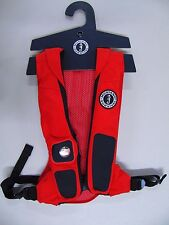 Mustang Survival Elite Hydrostatic Inflatable PFD Red NEW!!