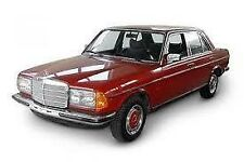 Mercedes Benz Carpet set w123 RHD 200d,220d,230,240d,250,280e,300d,300td....