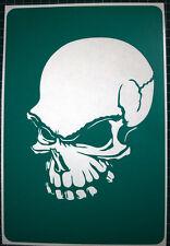 Airbrush stencil  Skull