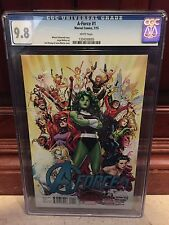 A-FORCE #1 CGC 9.8 NM/MT 1ST PRINT SECRET WARS SWA
