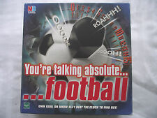 YOUR TALKING ABSOLUTE FOOTBALL /  ELECTRONIC BOARD GAME / MB GAMES