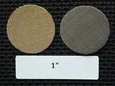 1 inch brass tobacco pipe screen filters - 25 count lot - high quality