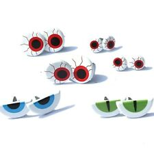 SPOOKY EYE    BRADS  *3 COLORS *  EYELET OUTLET  8 PCS  3 DESIGNS / SIZES