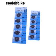 10pcs 3V Zelle CR2032 Lithium-Batterie für Skalen Rechner-Fernspielwaren NUE