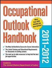 Occupational Outlook Handbook 2011-2012 Occupational Outlook Handbook paper-Mc