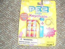 PEZ Candy Keychain New In Package Never Opened Basic Fun 1998
