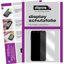 2x Vivo X7 Schutzfolie klar Displayschutzfolie Folie dipos