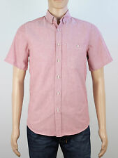 Topman mens Size small pink short sleeve shirt
