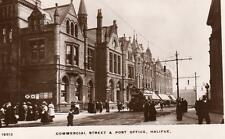 Commercial Street & Post Office Halifax RP pc used Grosvenor Ref A394