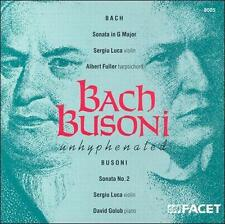 Bach Busoni Unhyphenated, New Music