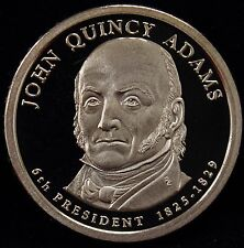 2008-S Presidential Dollar John Quincy Adams Gem DCAM Proof Uncirculated