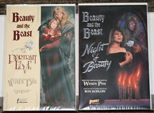 First Publishing Beauty & The Beast # 1 & 2 - Wendy Pini - Based on the TV Show!