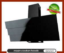 MAAN Cooker Hood Bravo 6S 90cm Black glass LED! August Special! 8 hoods Only