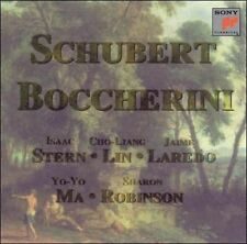 Schubert Boccherini Quintets Stern, Lin, Laredo NM CD