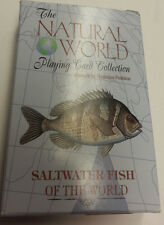 SALT WATER FISH OF THE WORLD PLAYING CARD DECK