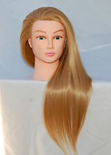 "(US SELLER) 30"" Cosmetology Mannequin Synthetic Hair Human Head Standard PEGGY"