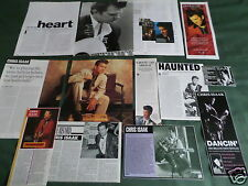 """CHRIS ISAAK - ROCK/ROLL MUSIC  - """"  CLIPPINGS /CUTTINGS PACK """""""