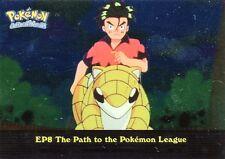 POKEMON TOPPS ENGLISH CARD METAL HOLO #EP8 THE PATH TO THE POKEMON LEAGUE