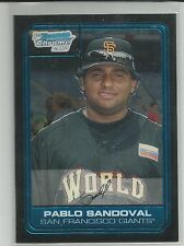 Pablo Sandoval Boston Red Sox 2006 Bowman Chrome Draft
