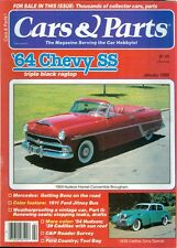 1985 Cars & Parts Magazine: 1954 Hudson Hornet Brougham/1939 Cadillac Sixty