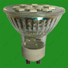 2x 3W GU10 Epistar SMD 5050 LED Spot Light Bulbs 2700K Warm White Lamps