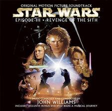 Star Wars Revenge Of The Sith - CD + DVD - John Williams