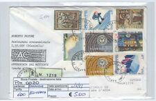 STORIA POSTALE - REPUBBLICA MULTIPLI - PIIM0020 - ASSICURATA - 5.00€