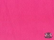 "Polar Fleece Fabric Solid Bubblegum Pink Anti-Pill 60"" Wide Sold By The Yard"