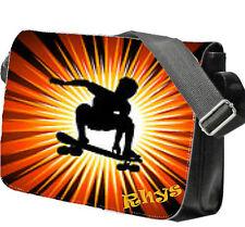 Personalizzato Borsa Scuola / / A Tracolla Skate Board - Ideale Ragazzi Regalo