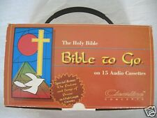 Bible to Go 15 Audio Cassettes King James New Testament Psalms Songs of Praise