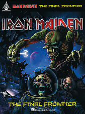IRON MAIDEN THE FINAL FRONTIER GUITAR TAB BOOK NEW