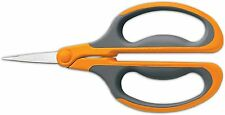 Fiskars 9638 Comfort Grip Floral Snips Big Loop Greenhouse Garden Scissors NEW